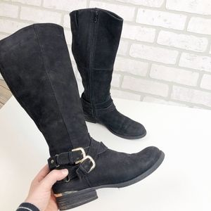 Steve Madden Amill Riding Boots Leather Size 8